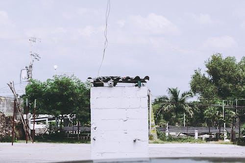 Imagine de stoc gratuită din alb, clădire veche