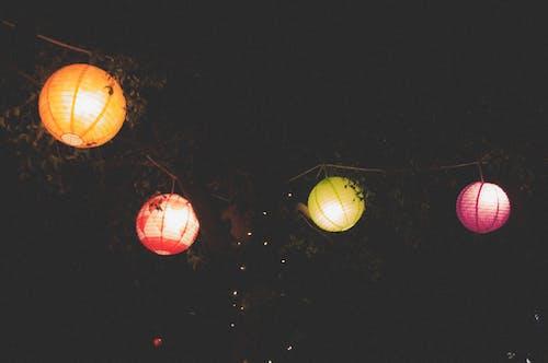 Imagine de stoc gratuită din chineză, lumini