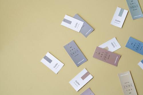 Fotobanka sbezplatnými fotkami na tému Copy Space, etikety, flatlay