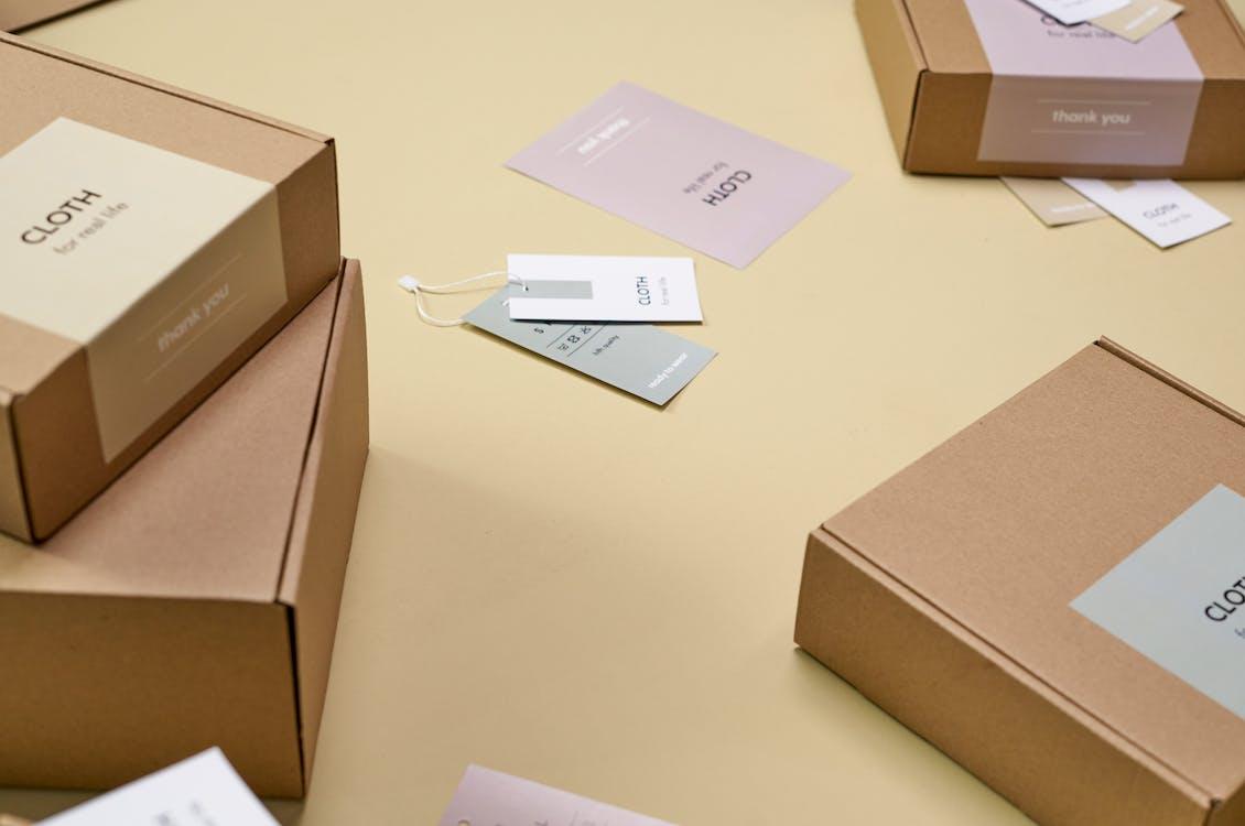 Ảnh lưu trữ miễn phí về băng dính, bưu điện, các tông