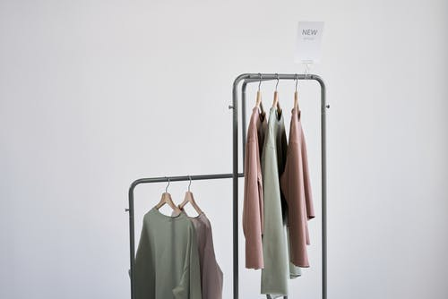 Newly Arrived Blouses on Display