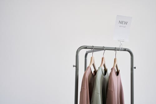 Free stock photo of blouse, clothing store, copy space