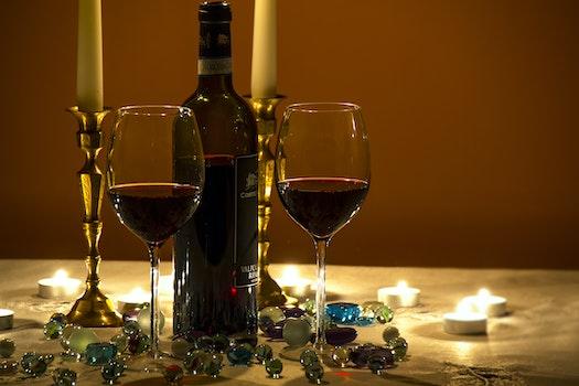 Free stock photo of dark, alcohol, evening, wine