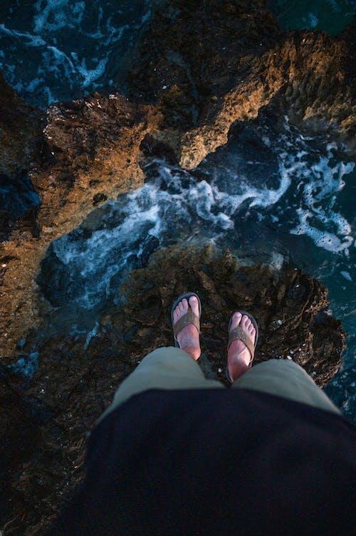 Foto profissional grátis de água, litoral, mar