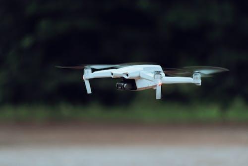 Immagine gratuita di bianco, colpo del primo piano, drone