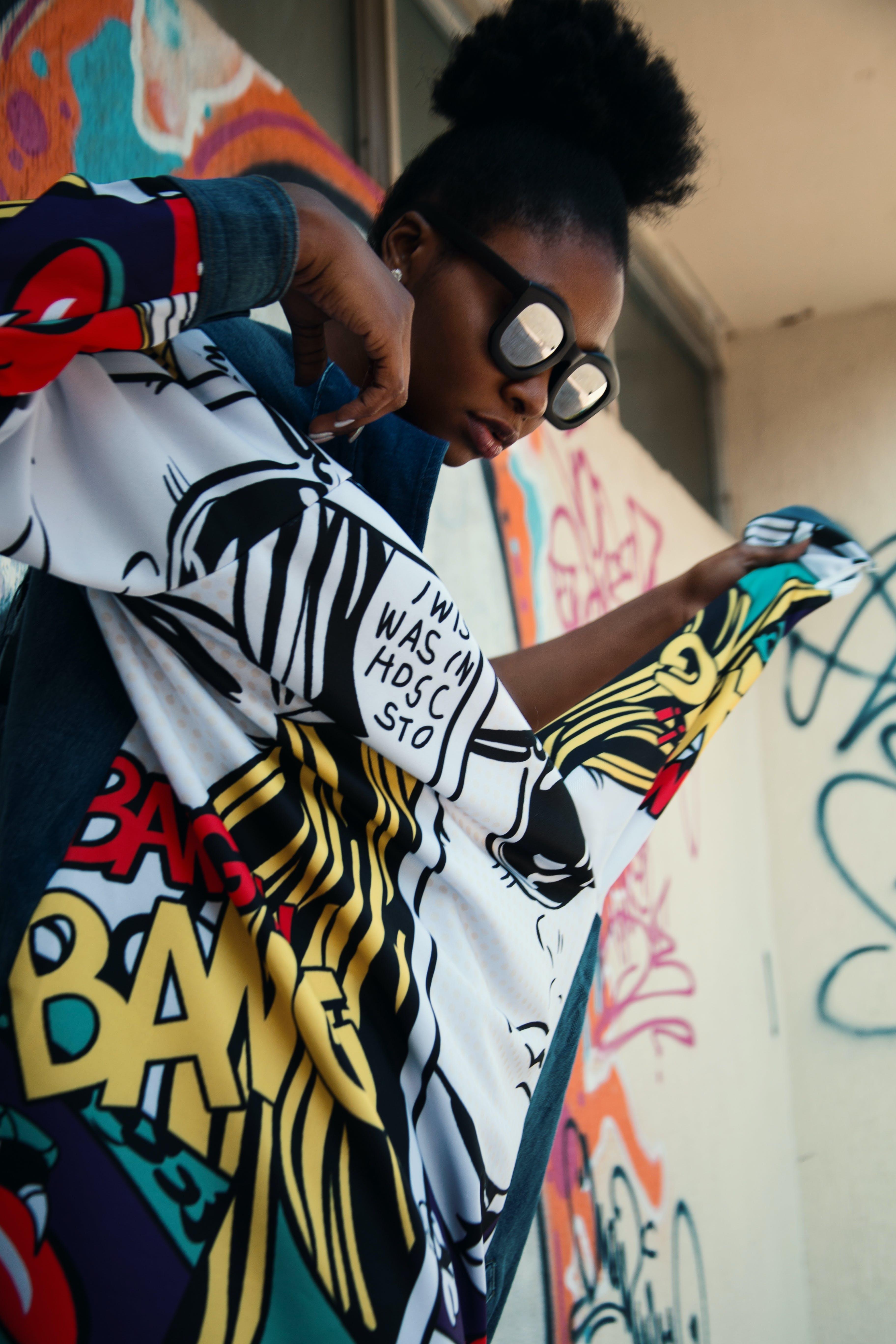 Kostenloses Stock Foto zu afroamerikaner-frau, dame, design, farbige frau