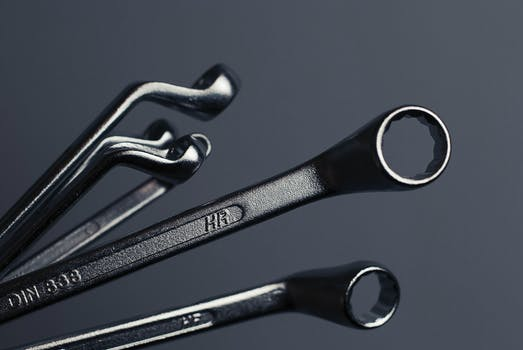 Free stock photo of tools, spanners, wrenches