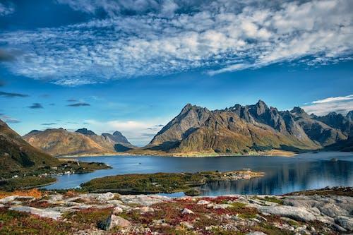 Darmowe zdjęcie z galerii z fiord, gigantyczne góry, góra