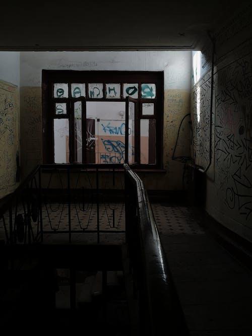 Základová fotografie zdarma na téma architektura, budova, chodba