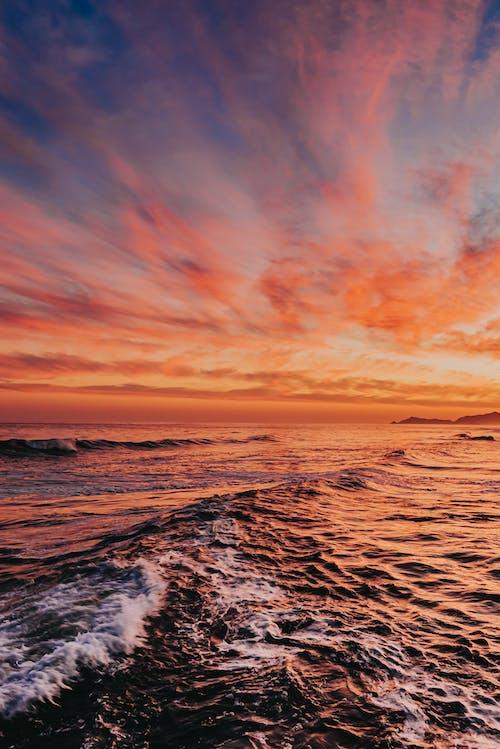 Photos gratuites de aube, bord de mer, côte