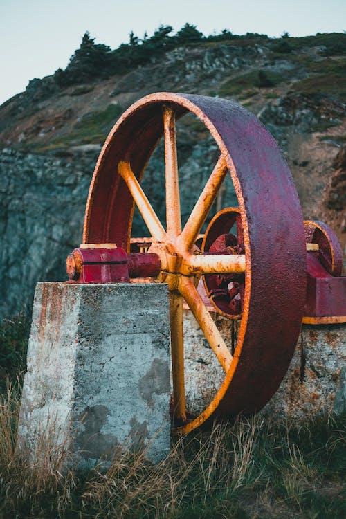Kostnadsfri bild av antik, hjul, järn