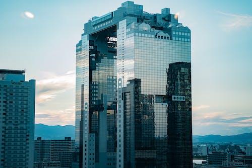 Imagine de stoc gratuită din afaceri, apus, arhitectură
