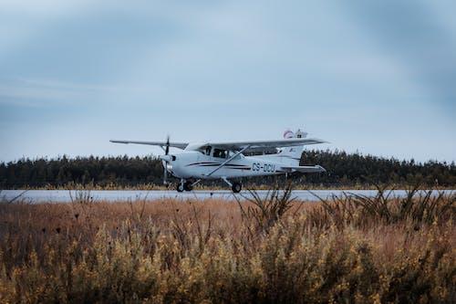Free stock photo of aeroplane, race track, take off