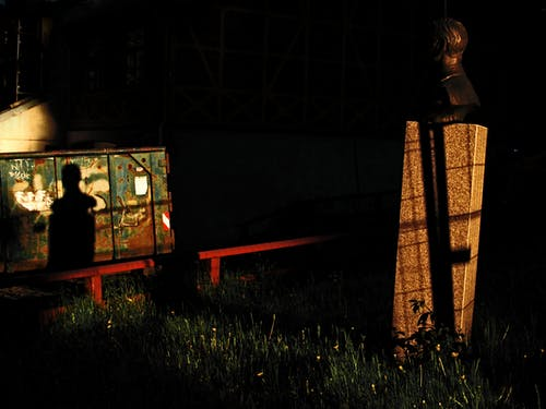Foto stok gratis bayangan, cahaya, gelap, lansekap