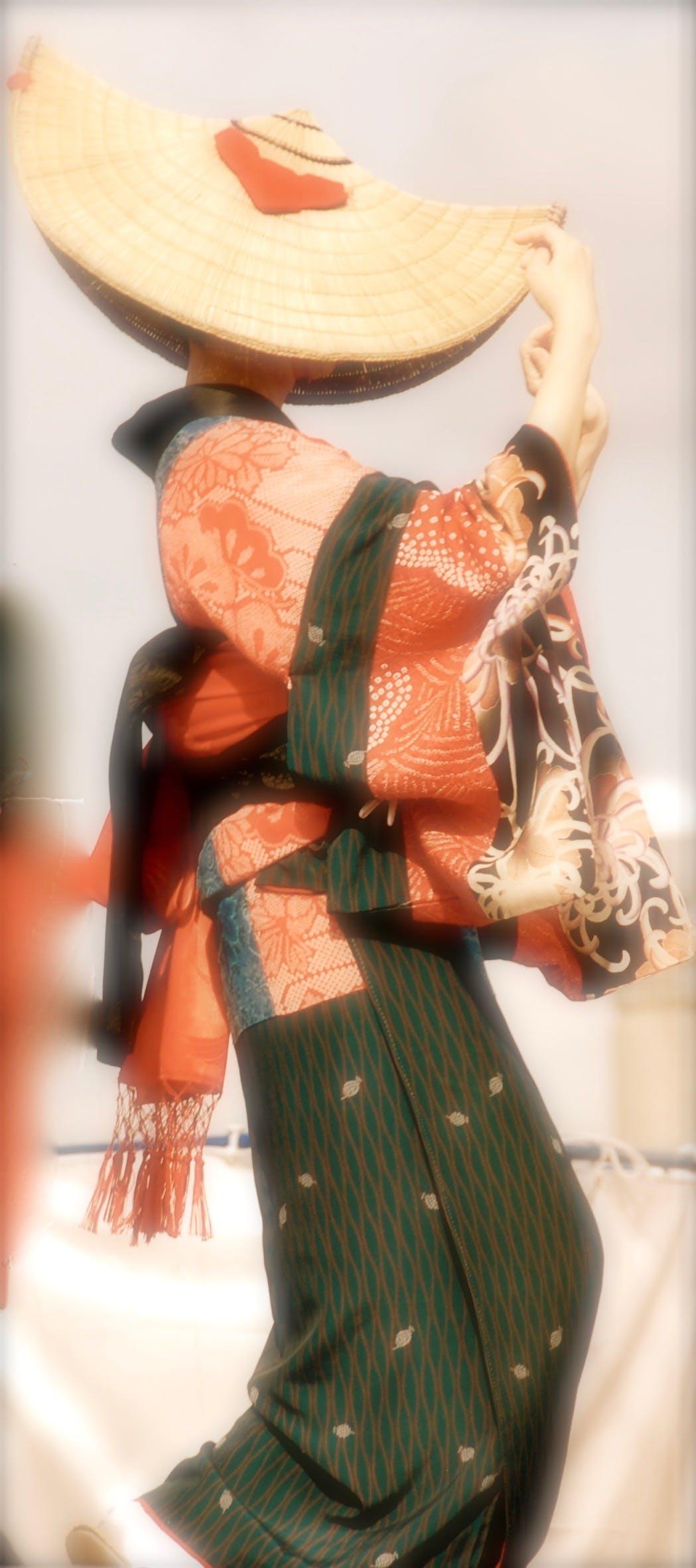 Δωρεάν στοκ φωτογραφιών με γιαπωνέζικη κουλτούρα, Ιαπωνία, φαντάσου χορεύτρια, χορεύτρια