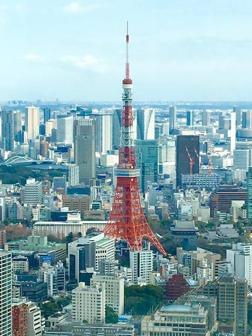 Photos gratuites de citadin, paysages urbains, rouge, tokyo