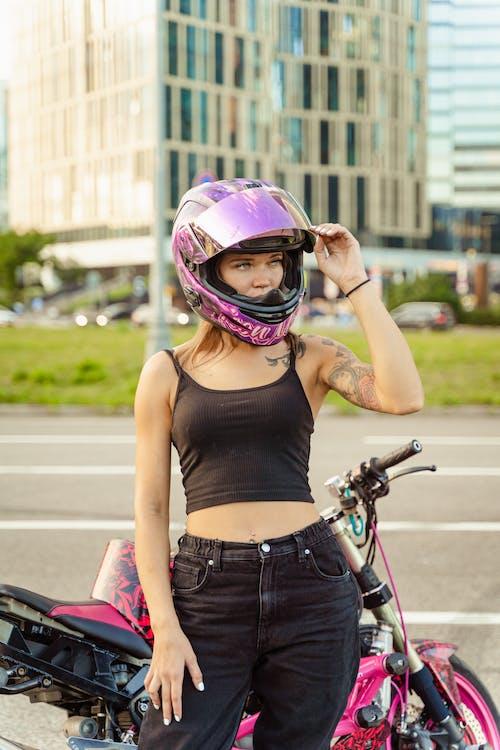 Бесплатное стоковое фото с Активный, байкер, велосипед