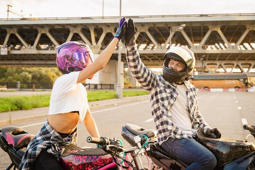 Бесплатное стоковое фото с байк, байкер, велосипед