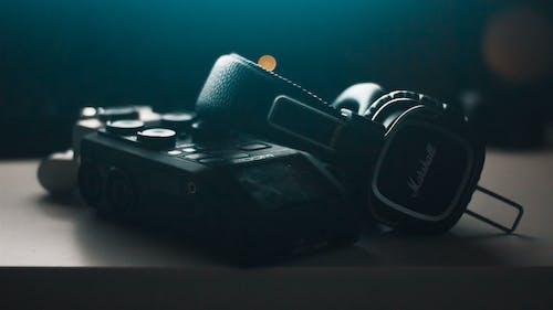 Free stock photo of audio, dark, gear