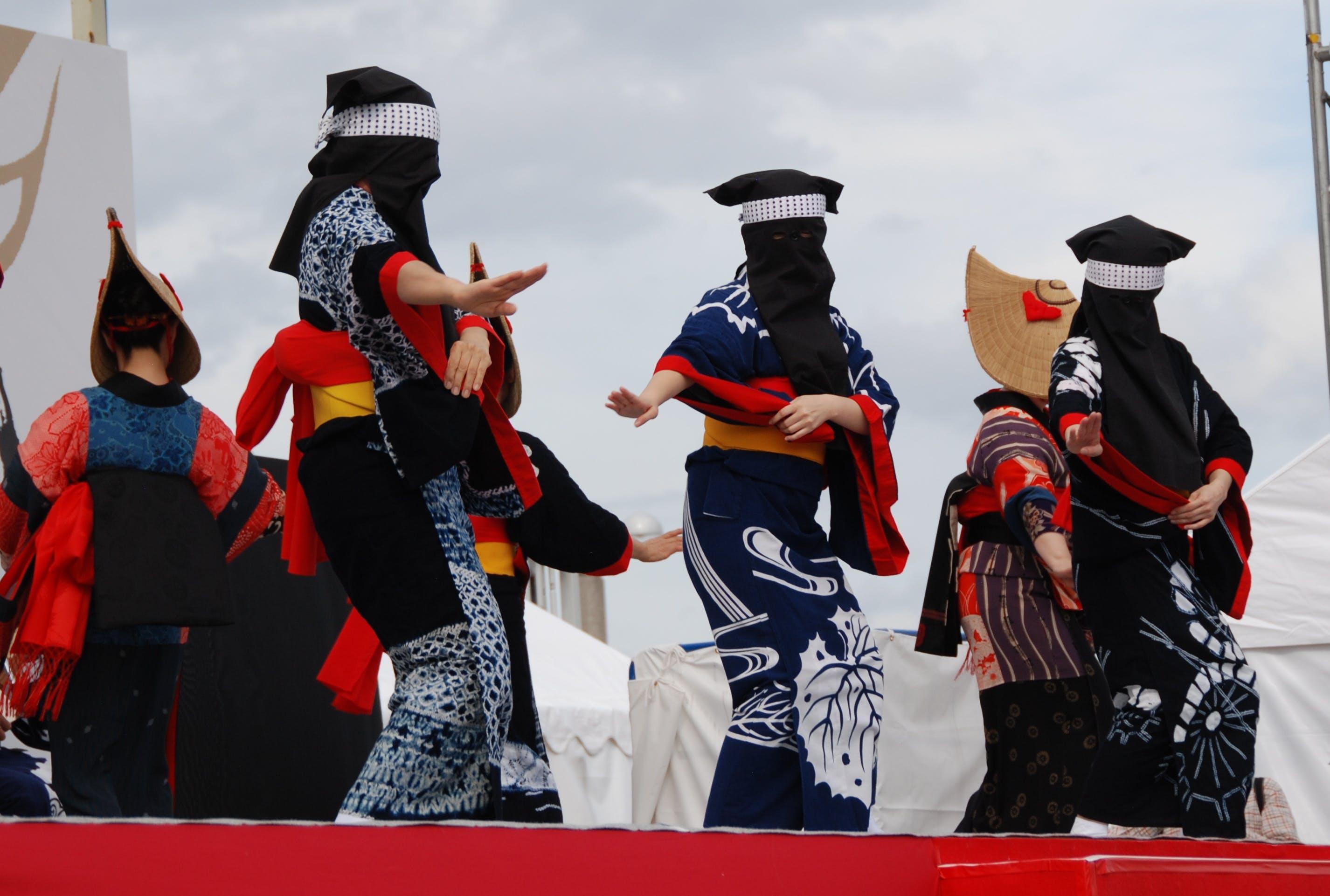 Δωρεάν στοκ φωτογραφιών με akita travel, η ιαπωνία ταξιδεύει, Ιαπωνία, λαϊκός χορός