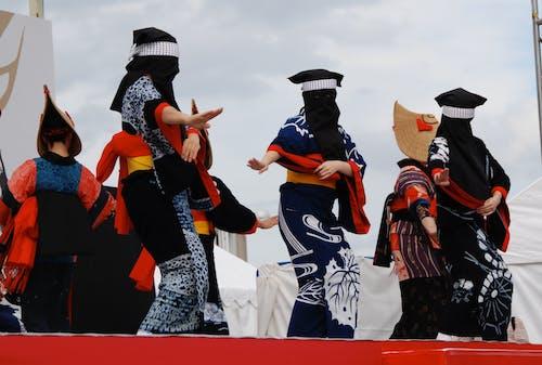 Photos gratuites de akita voyage, culture du japon, danse folklorique, danseurs fantômes