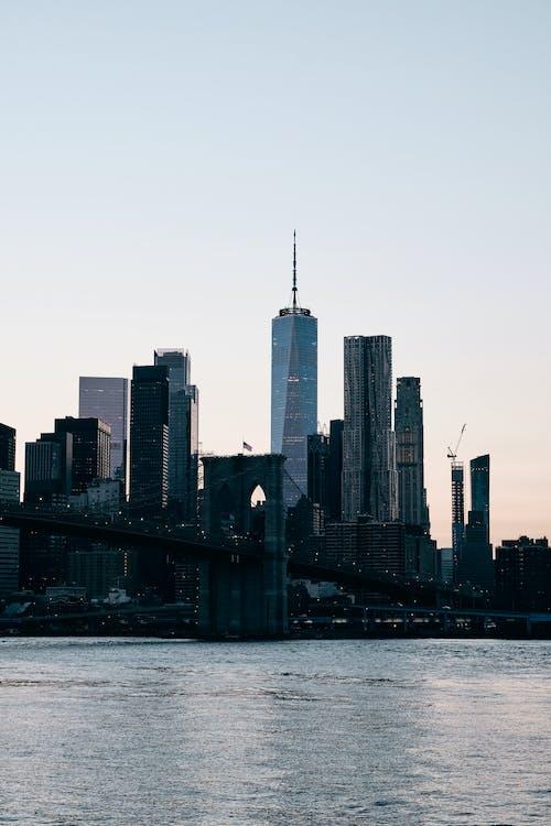 Ingyenes stockfotó alkonyat, épület külseje, felhőkarcoló témában