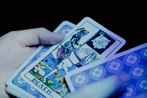 Základová fotografie zdarma na téma smrt, taro, tarotové karty