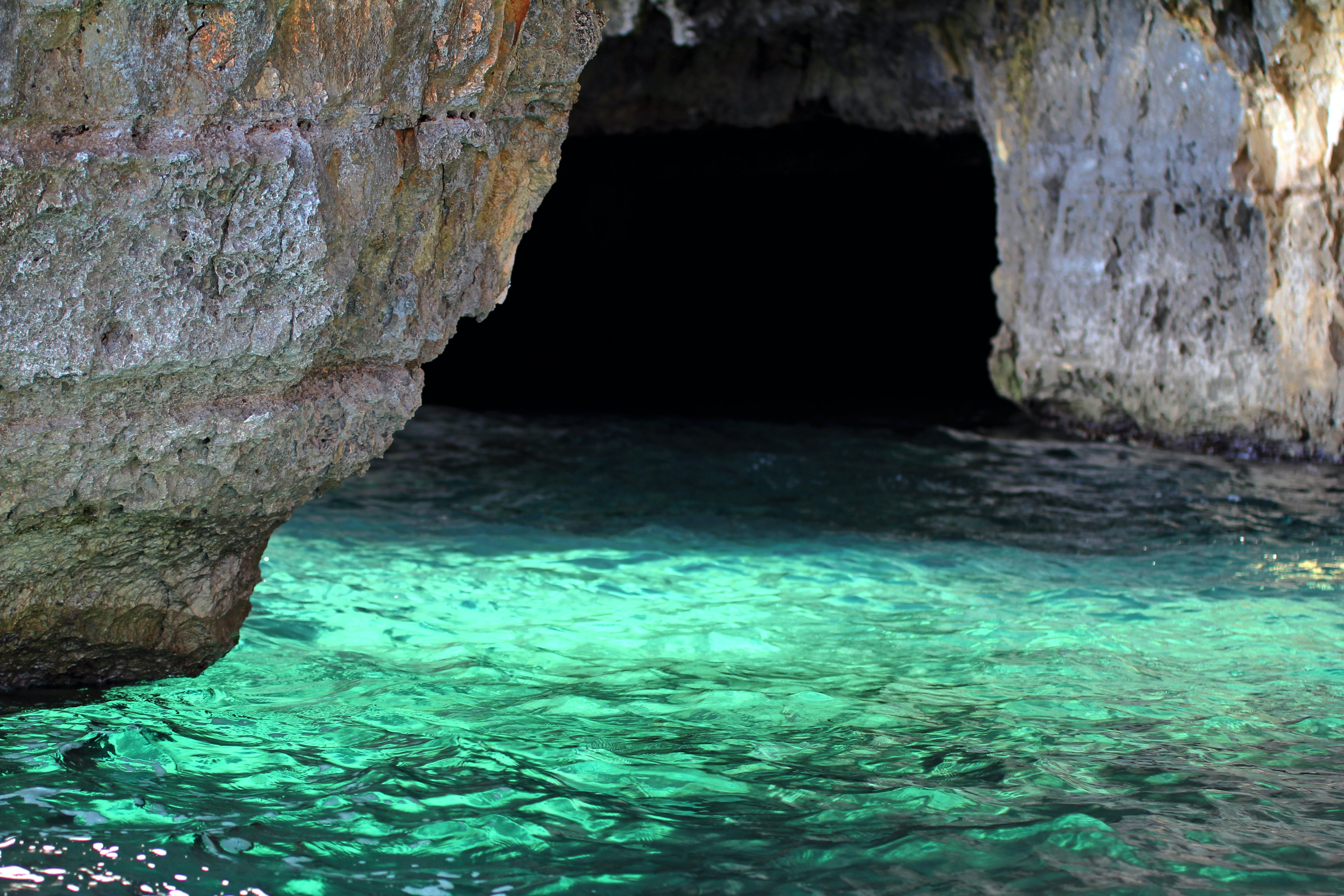 Body of Water in Cave