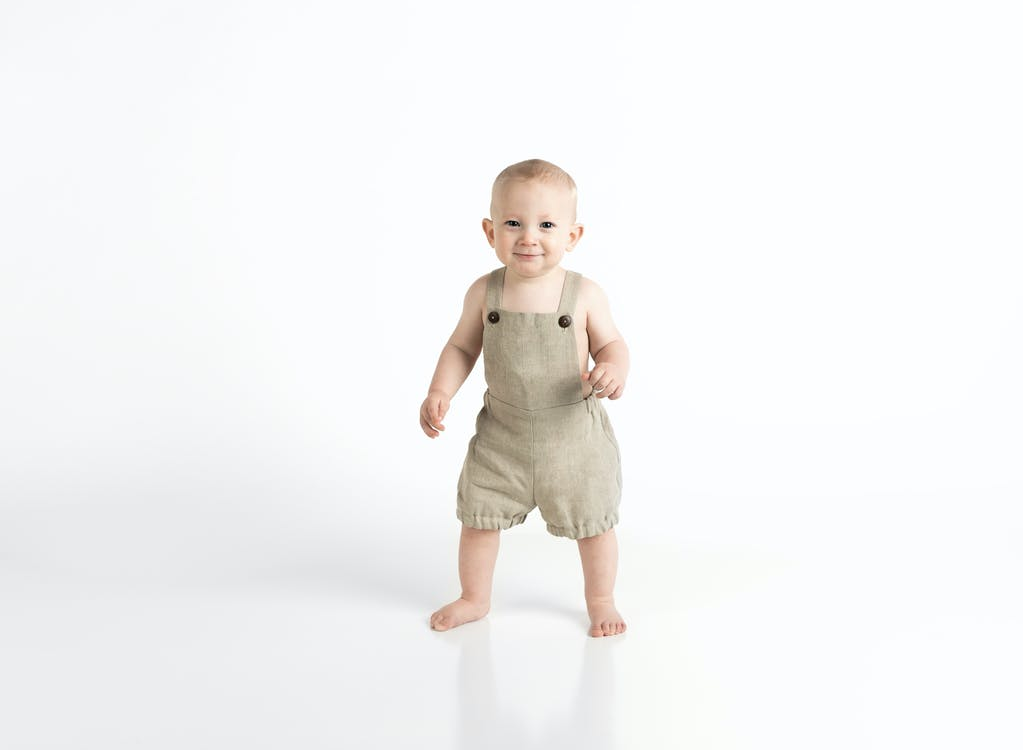 Baby's Brown Onesie
