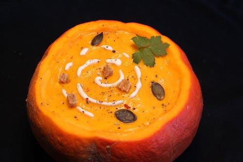Free stock photo of black background, hokkaido, pumpkin