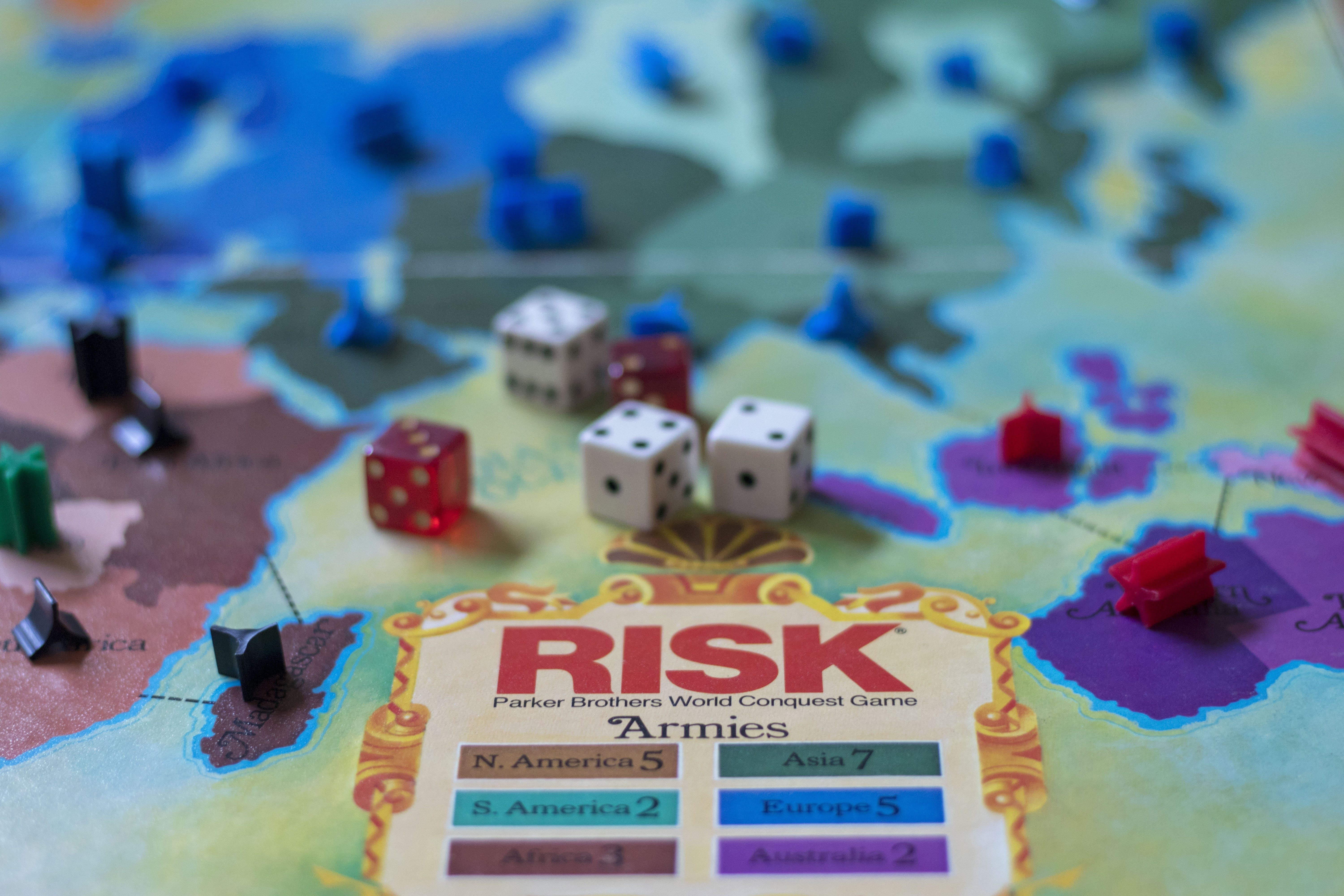 Free stock photo of board game, game, risk, risk board game