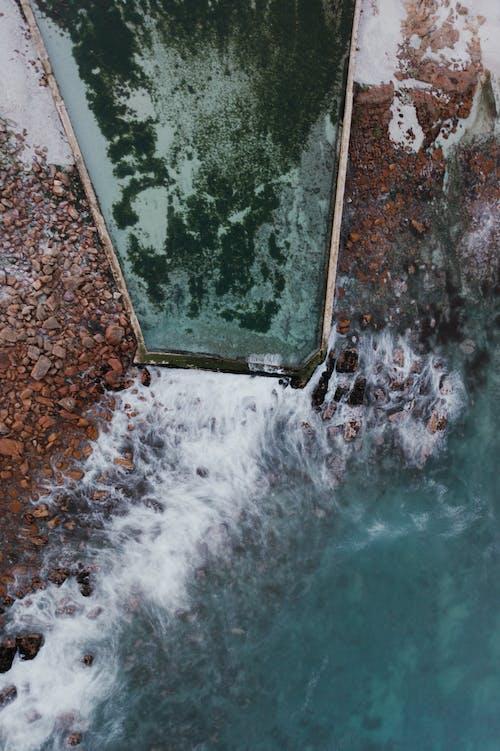 Fotos de stock gratuitas de costa, foto con dron, fotografía aérea