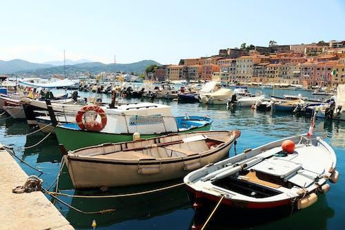 Kostnadsfri bild av båtar, hav, Italien, stad