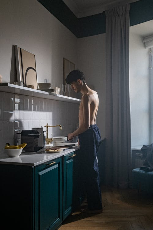 Free stock photo of coffee making, copyspace, early morning