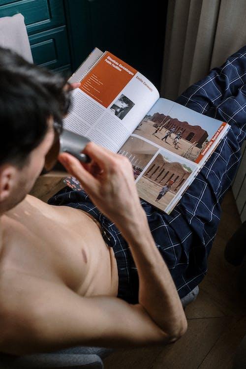 Foto stok gratis Book, dalam ruangan, dewasa
