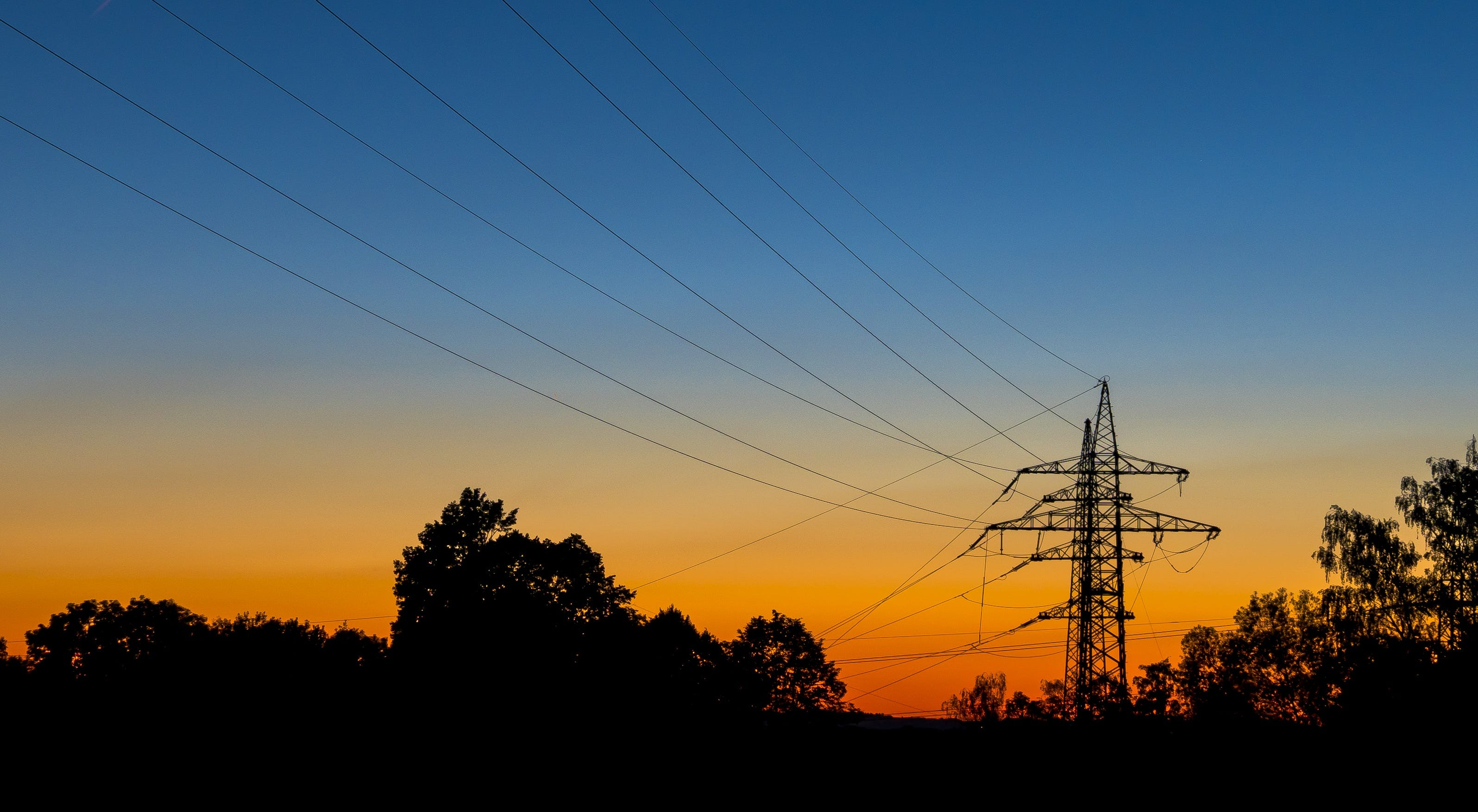 Free stock photo of blue, current, distribution of electricity, electricity