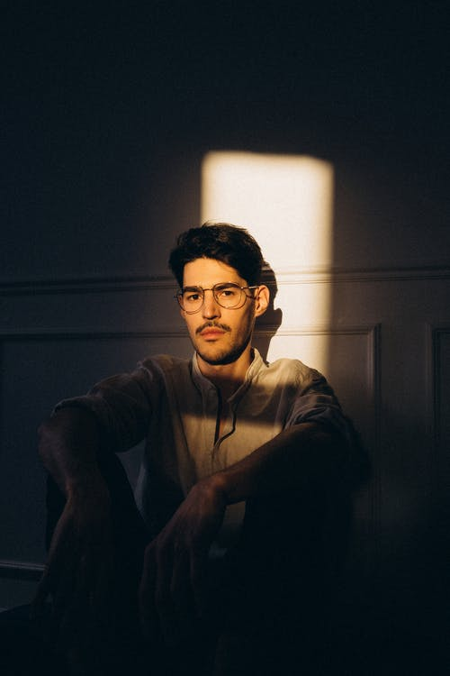 검은 머리, 그림자, 남자의 무료 스톡 사진