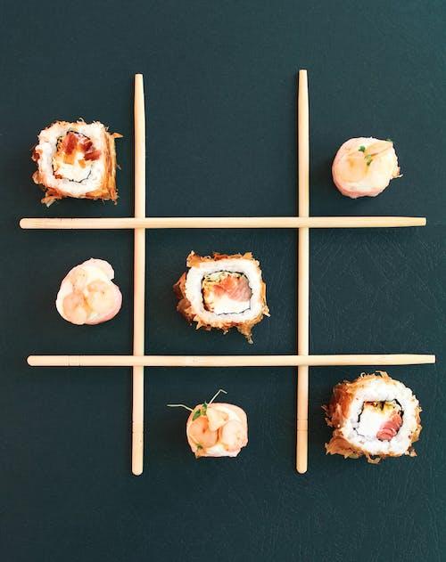 Δωρεάν στοκ φωτογραφιών με sashimi, wasabi, αβοκάντο