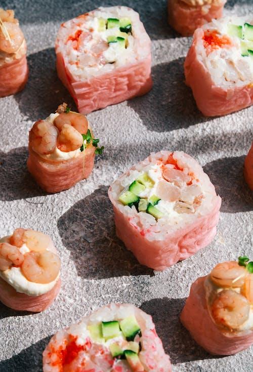 Δωρεάν στοκ φωτογραφιών με sashimi, wasabi, απλώνω