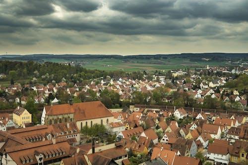 fachwerkhã¤user, nã¶rdlingen, 城市, 天空 的 免費圖庫相片