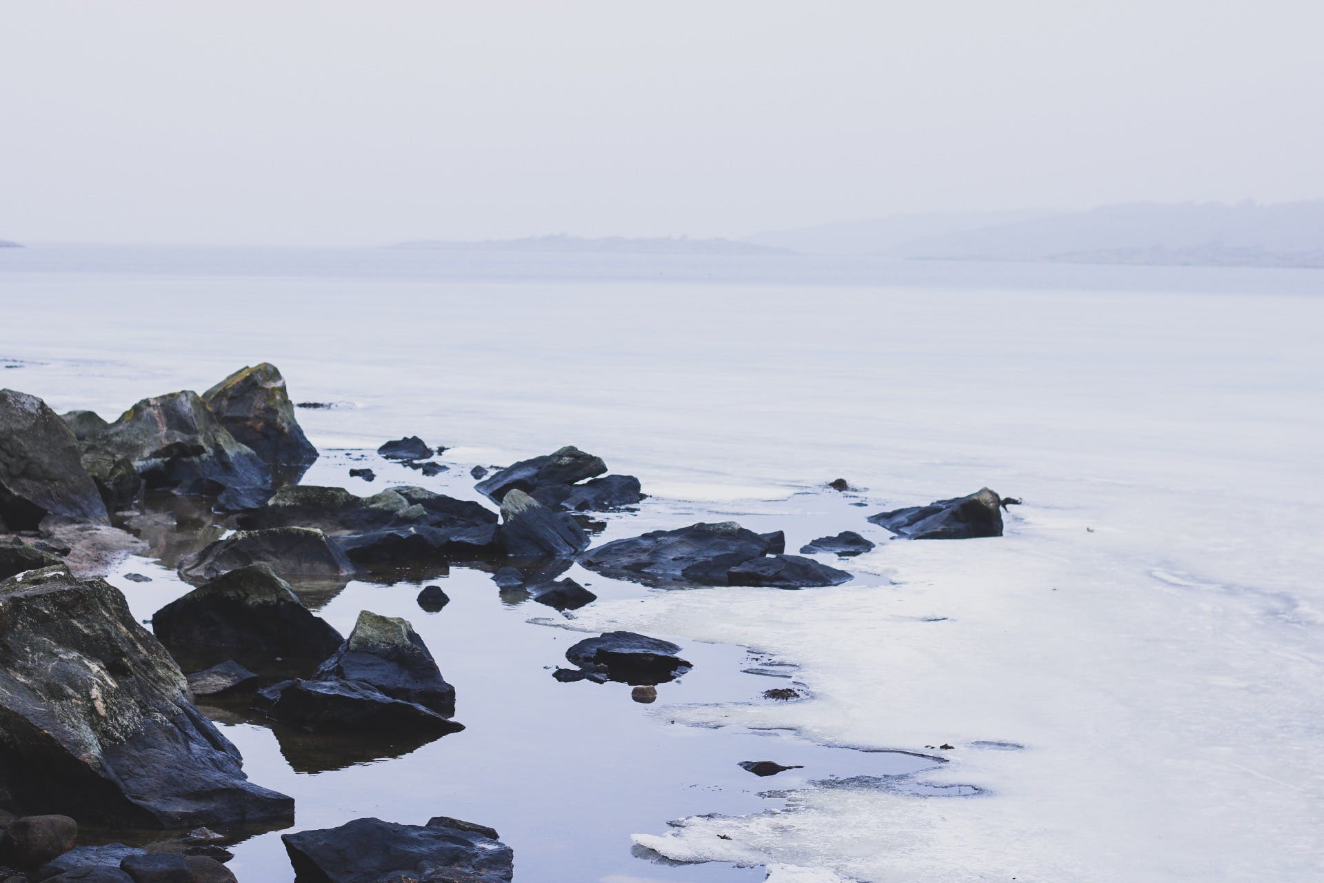 Free stock photo of frozen lake, ice, lake, mother nature