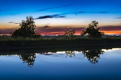 傍晚的天空, 反射, 天空, 心情 的 免費圖庫相片