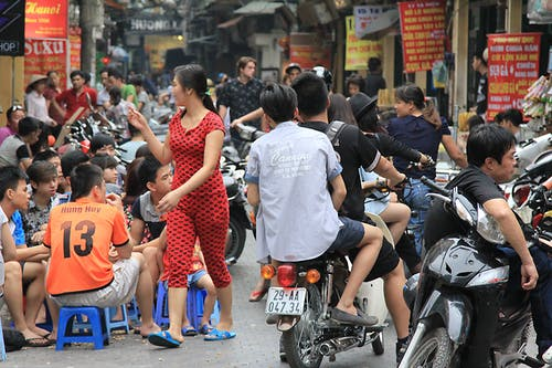 Free stock photo of crowded, crowds, dining, Hanoi
