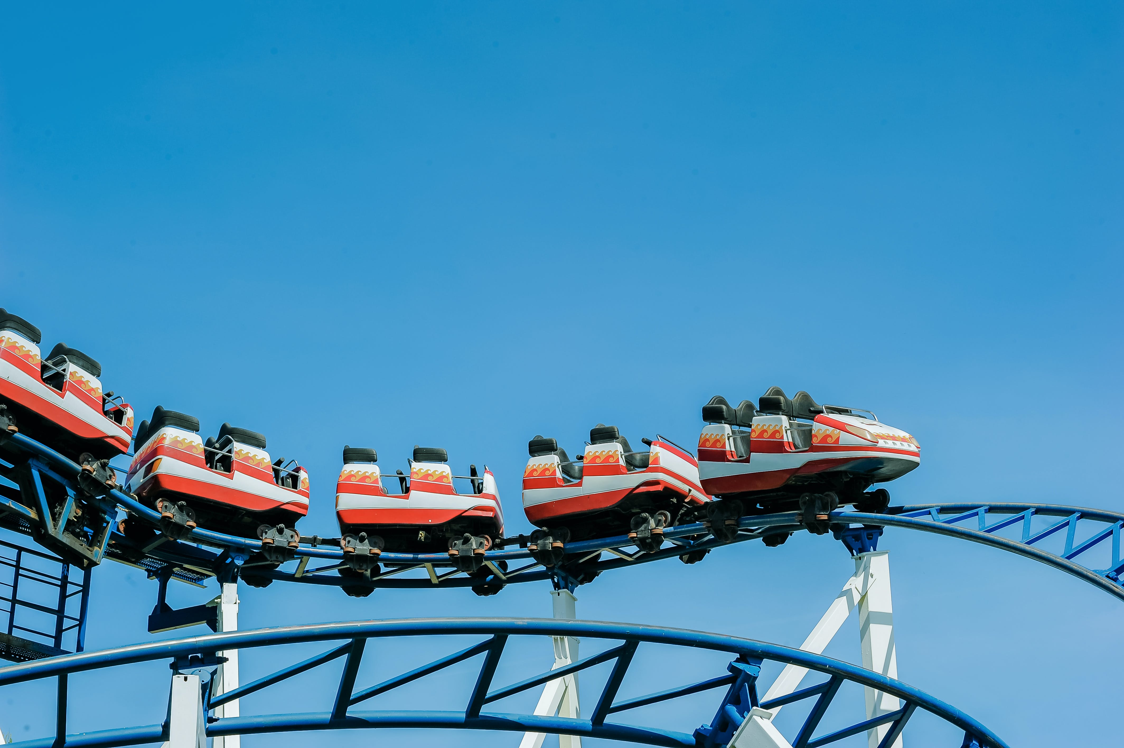 Photography of Roller Coaster