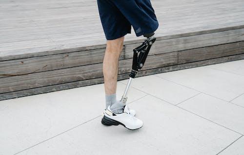 人, 低節, 假腿 的 免費圖庫相片