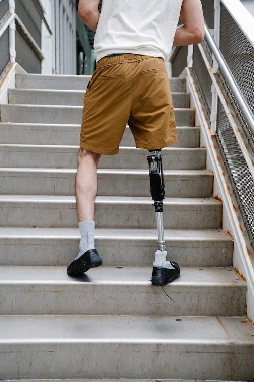 中等人群, 人, 假肢 的 免费素材图片