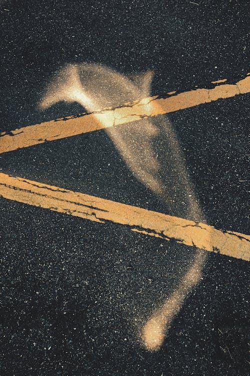 Foto stok gratis abstrak, angkasa, aspal