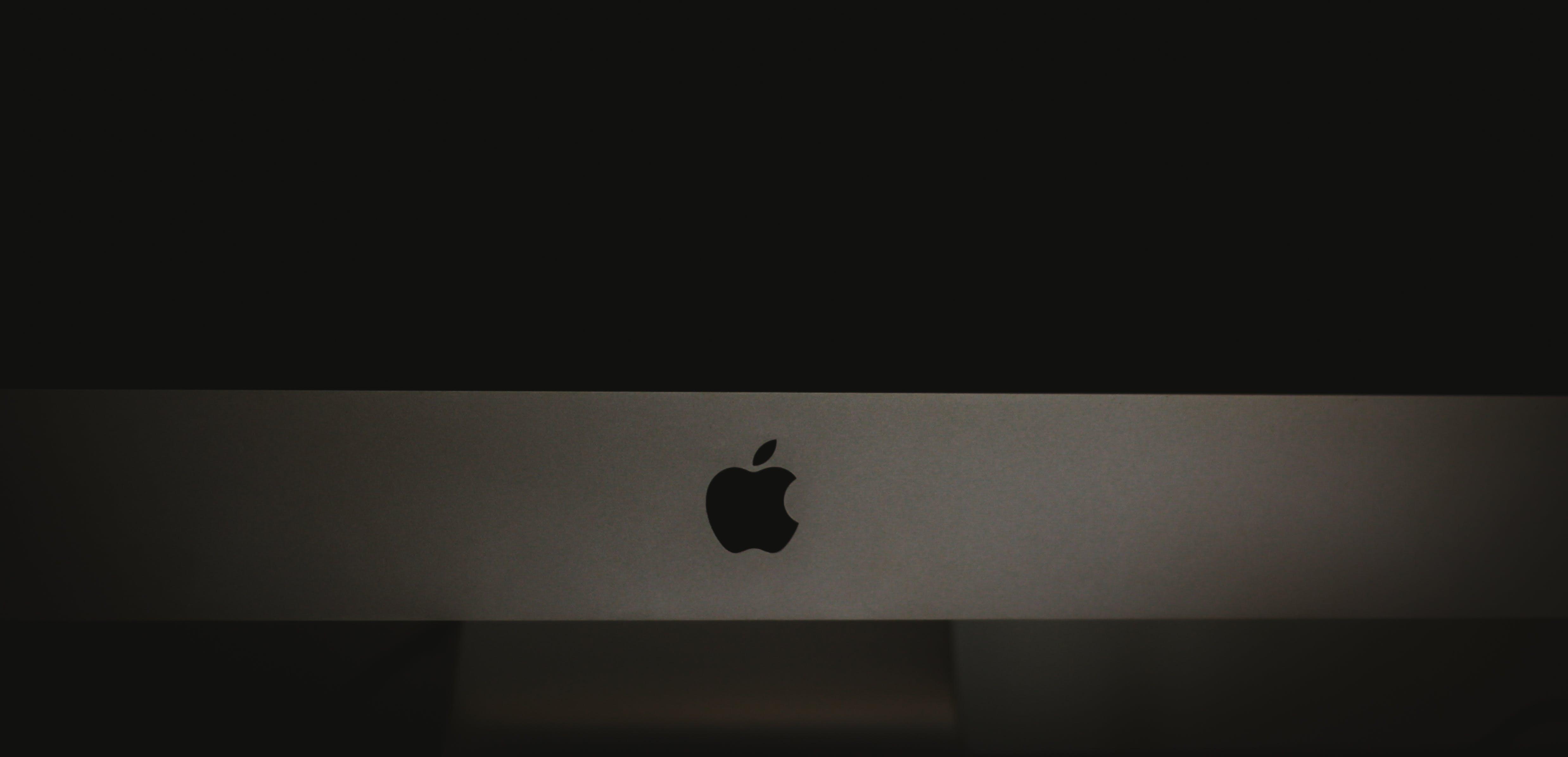 Free stock photo of apple, apple device, imac, logo