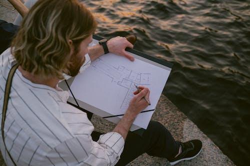 Immagine gratuita di acqua, adulto, architettonico