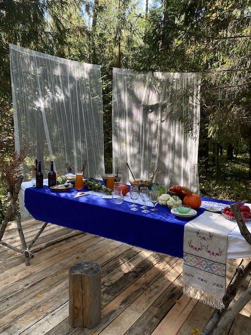 テーブル, パーク, フローラの無料の写真素材